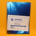 Aktenhüllen DIN A4 15 Stk.blau
