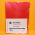 Aktenhüllen DIN A4 15 Stk.rot