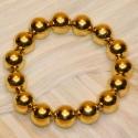 Armband Perlkugel gold