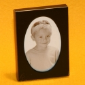 Fotorahmen 3.5x5cm schwarz