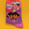 Dora Kindersocken 62% Baumwolle lila