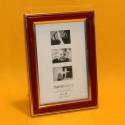 Fotorahmen Zierrand rot 10x15cm