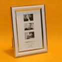 Fotorahmen Zierrand weiss 10x15cm