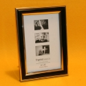 Fotorahmen Zierrand schwarz 10x15cm