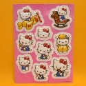 Hello Kitty 3D Stickers 9 Sujet rosa