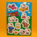 Hello Kitty 3D Stickers 10 Sujet