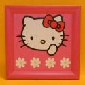 Hello Kitty Wandbild 19x19cm