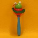 Holz Springball-Spiel Frosch