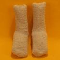 Kuschel-Socken beige