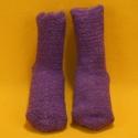 Kuschel-Socken lila
