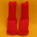 Kuschel-Socken rot