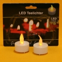 LED Teelicht 2 Stk. weiss incl. Batterien