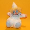 Puppe Clown Elias blau