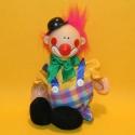 Puppe Clown Pitorio gelb