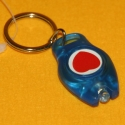 Schlüsselanhänger LED-Lampe blau
