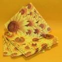 Servietten Blumen  3-lagig 20Stk