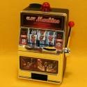 Spardose Spielautomat mit Klingel+Licht
