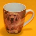 Tasse Motiv Hund mit Welpen
