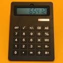Tischrechner XXXL schwarz