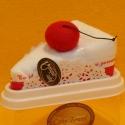 Torte Baumwoll-Handtuch Kirsch
