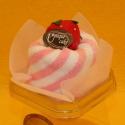 Torte Baumwoll-Handtuch Muffin Erdbeer