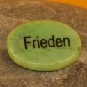 Wunschstein Frieden grün