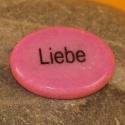 Wunschstein Liebe pink