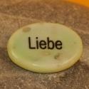 Wunschstein Liebe grün